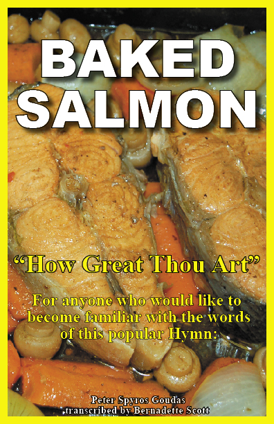 Baked Salmon book, which is an inspirational book that narrates the events that led to the creation of this wonderful recipe.